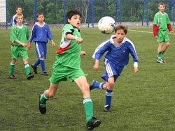 Футбол в честь дня города