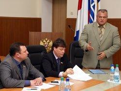 Глава Находки отчитался перед депутатами городской Думы