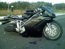 """Два """"байкера"""" из Находки разбились на угнанном мотоцикле"""