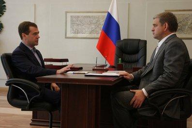 Во Владивостоке состослась рабочая встреча Президента России и губернатора Приморского края