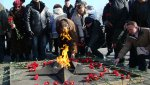 В Находке почтили память погивших в Афганистане