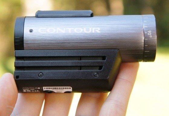 Экшн камера Contour+2 имеет компактные размеры